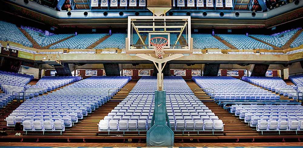 Dean Smith Center seats
